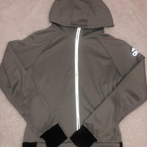 adidas Tops - ADIDAS Zip Up Hoodie